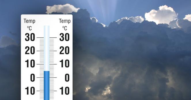 Temperature in calo, anche sotto media su alcuni settori
