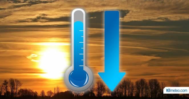 Temperature in calo, caldo meno opprimente