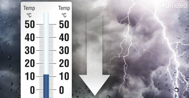 Temperature in netto calo tra mercoledì e giovedì
