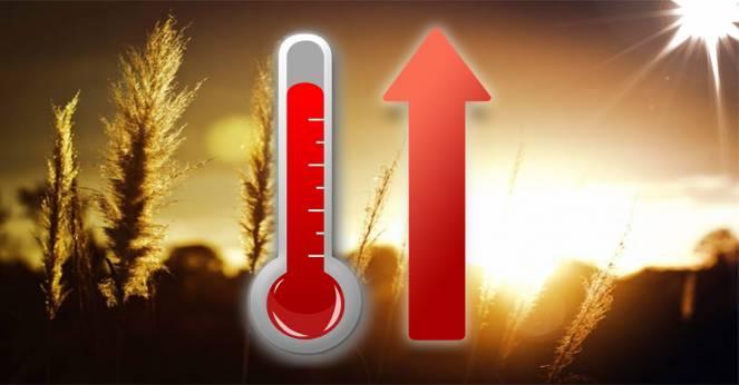 Temperature previste in settimana