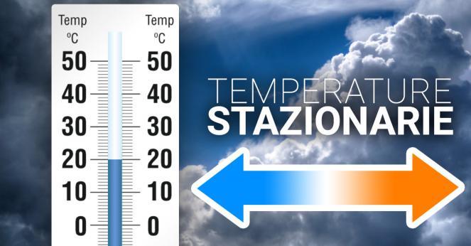 Temperature stabili su valori miti, nonostante il maltempo