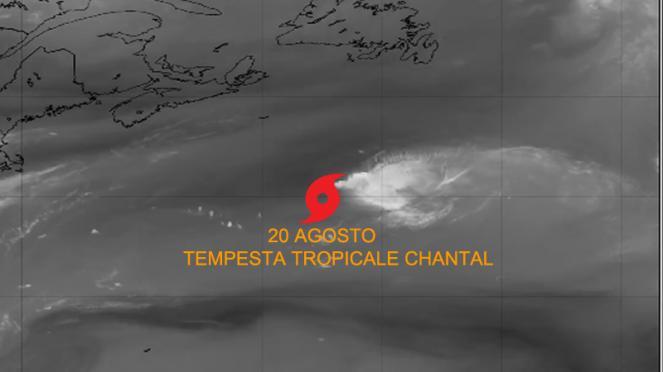 tempesta tropicale Chantal