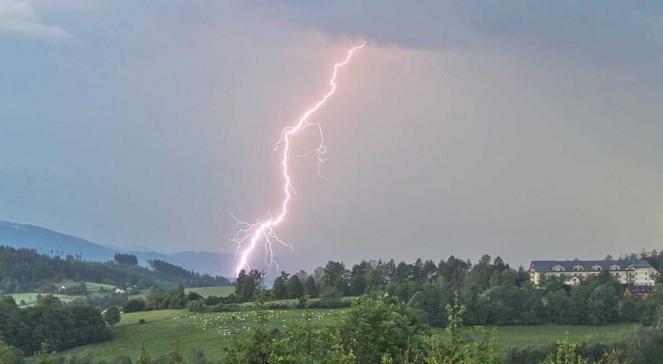 Temporale sulla Repubblica Ceca da Severe Weather Europe, foto di Martin Popek