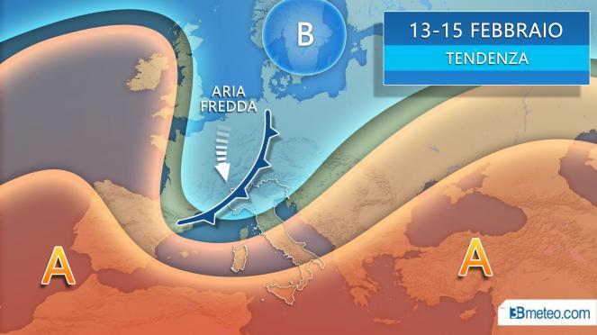 Allerta meteo nel Centro-Sud: le zone a rischio maltempo