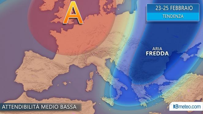 Meteo. Arriva il freddo della Russia: temperature gelide e neve