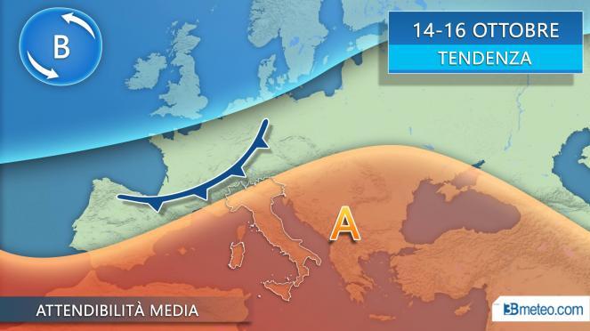 Meteo Trieste: giovedì molte nubi, poi bel tempo