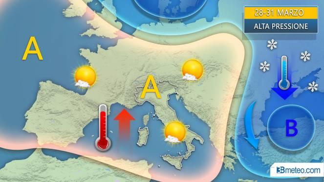 Meteo, torna il freddo tra stasera e domani. Continua il vento forte