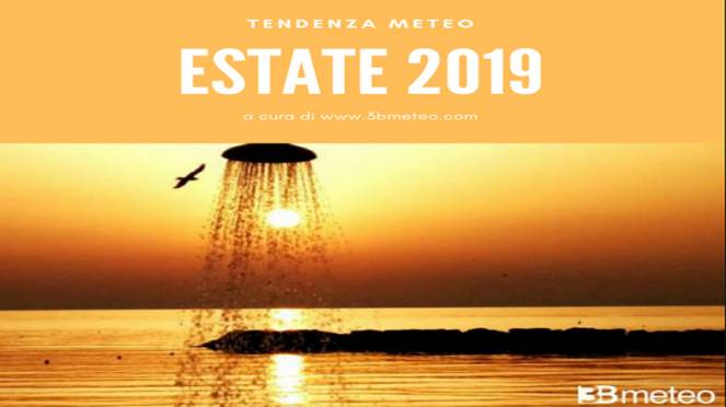 tendenza meteo estate 2019