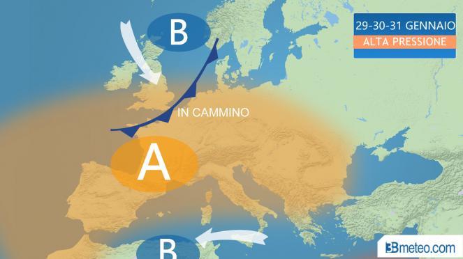 Giorni della Merla anomali: saranno insolitamente