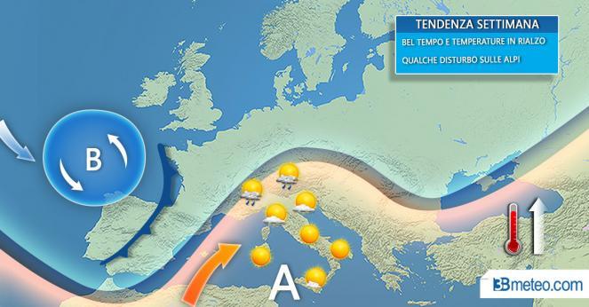 Nuova ondata di caldo torrido: arriva Polifemo