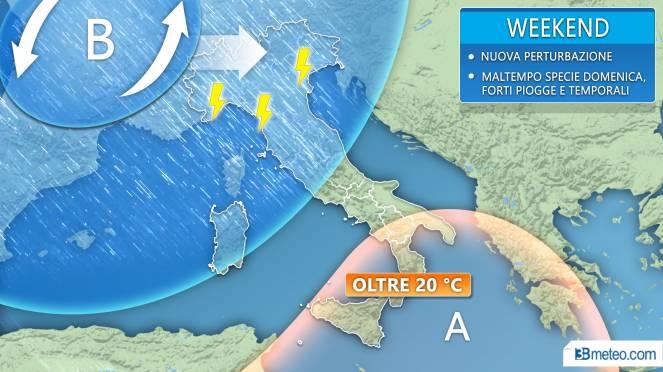 Maltempo, ancora pioggia a Latina e nel Lazio: allerta con codice giallo