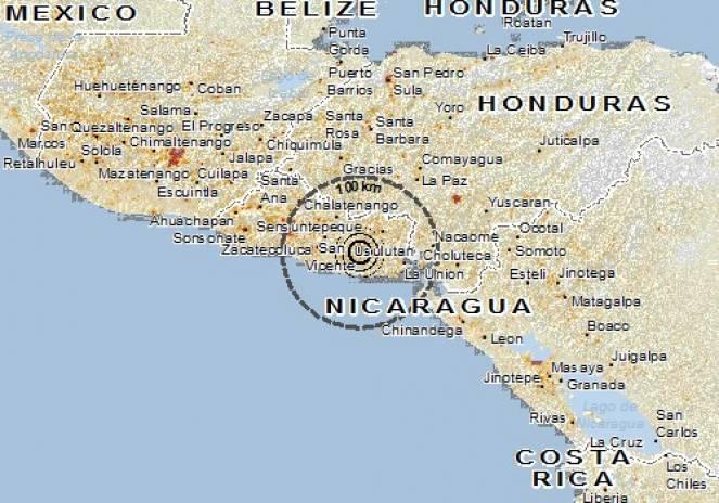 Terremoto di magnitudo 3 vicino Terni
