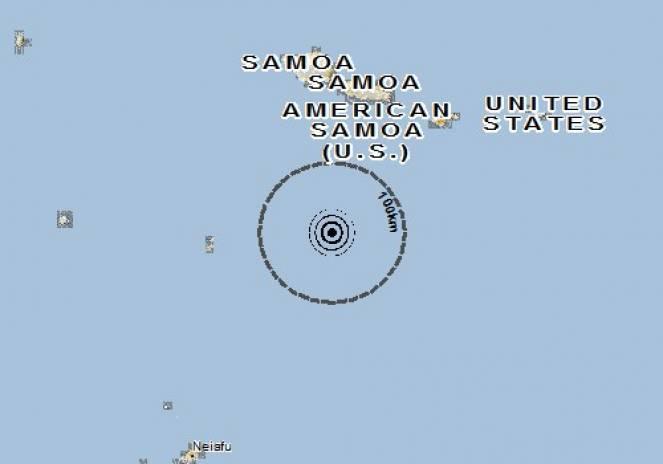 Scossa di terremoto a FALELATAI, Samoa