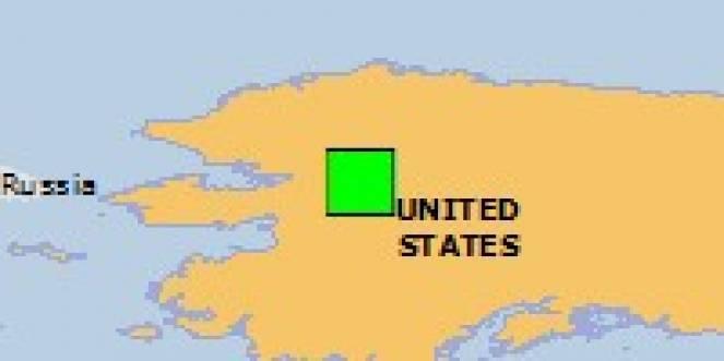 Scossa di terremoto a SHUNGNAK, USA - Alaska