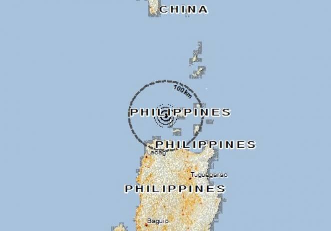 Scossa di terremoto a APARRI, Filippine