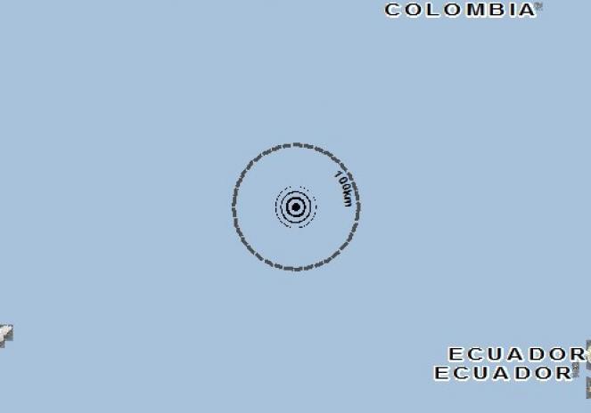 Scossa di terremoto a Manta, Ecuador