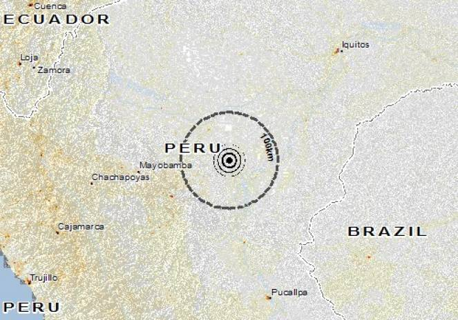 C'è stato un terremoto di magnitudo 8.0 nel nord del Perù