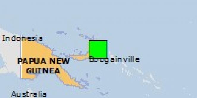 Scossa di terremoto a Kokopo, Papua-Nuova Guinea