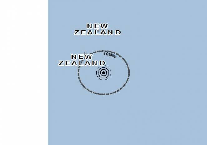 Scossa di terremoto a Kermadec Islands, Nuova Zelanda
