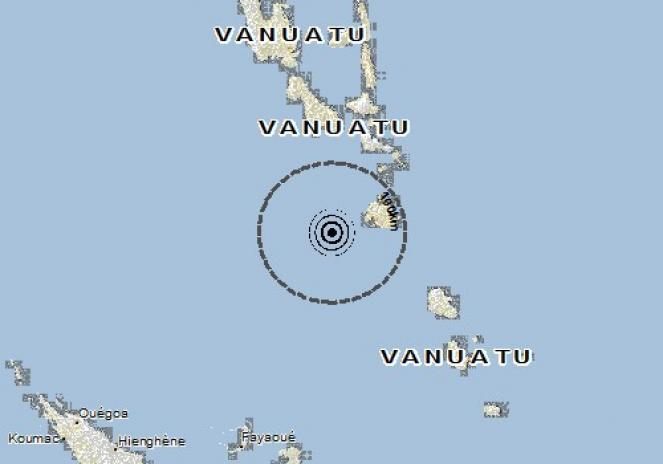 Scossa di terremoto a Port-Vila, Vanuatu