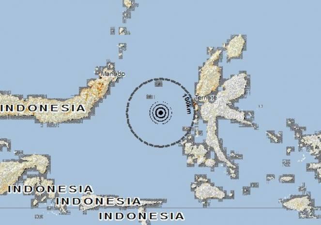 Scossa di terremoto a Jambula, Indonesia
