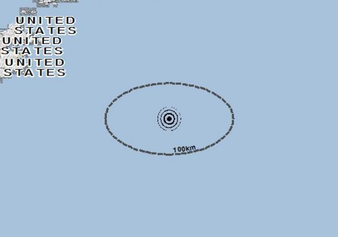 Scossa di terremoto a Kodiak, Stati Uniti d'America