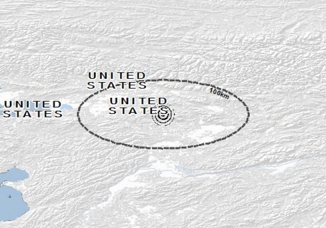 Scossa di terremoto a Shungnak, Stati Uniti d'America