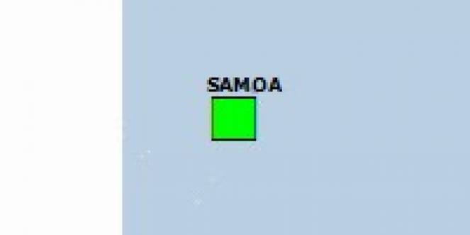 Scossa di terremoto a Hihifo, Tonga