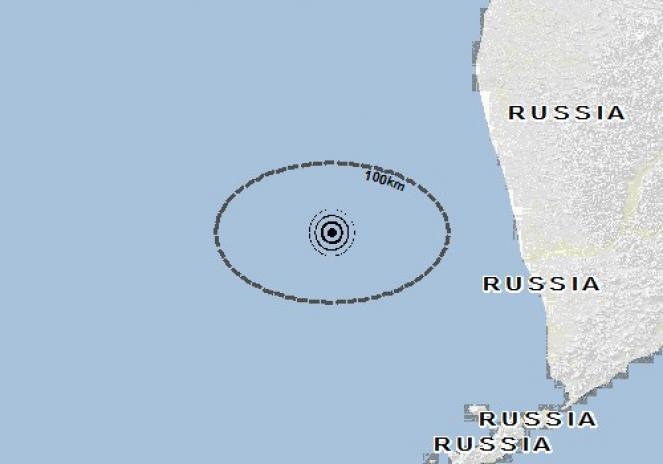 Scossa di terremoto a Yelizovo, Russia
