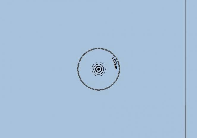 Scossa di terremoto a Kudahuvadhoo, Maldive