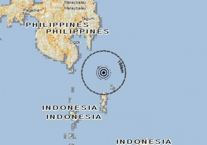 Scossa di terremoto a Essang, Indonesia