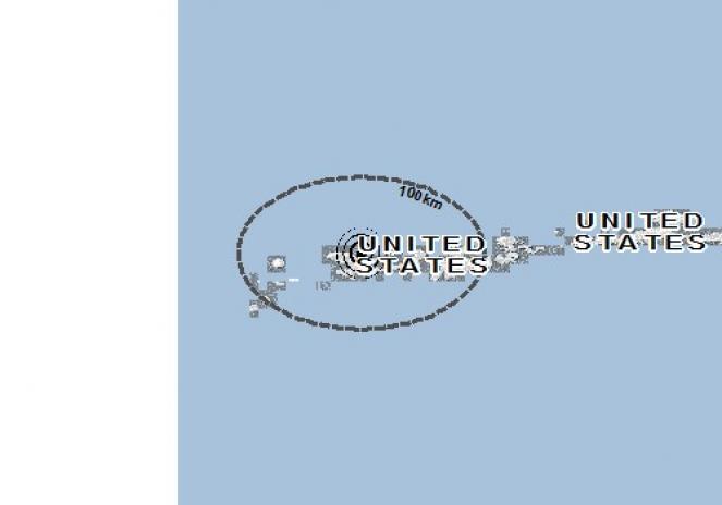 Scossa di terremoto a Adak Island, Stati Uniti d'America