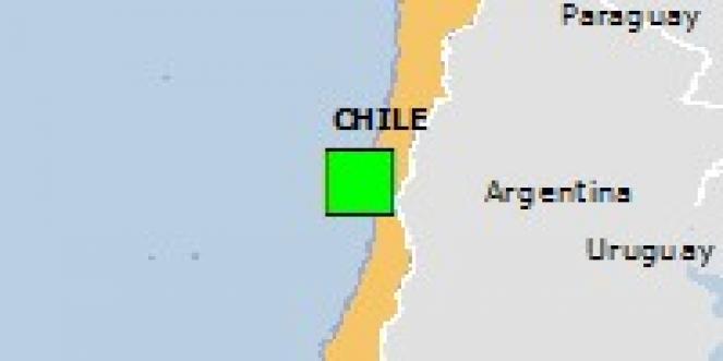 Scossa di terremoto a Ovalle, Cile