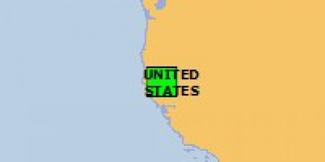 Scossa di terremoto a Anderson, Stati Uniti d'America