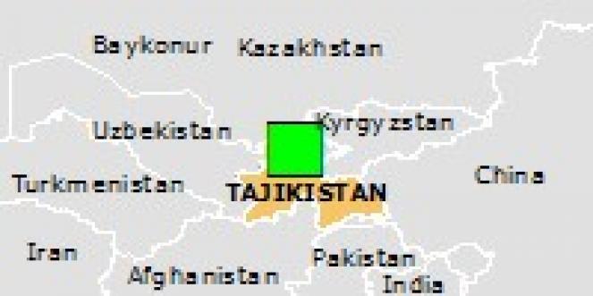 Scossa di terremoto a Shaydon, Tagikistan
