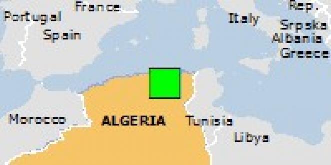 Scossa di terremoto a El Eulma, Algeria