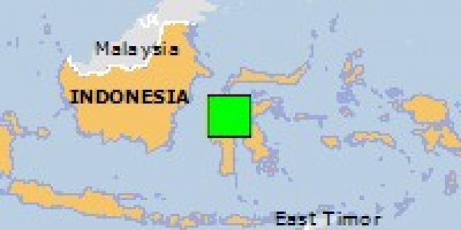 Scossa di terremoto a Tentena, Indonesia