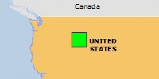 Scossa di terremoto a Lower Stanley, Stati Uniti d'America