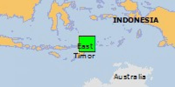 Scossa di terremoto a Dili, Timor est