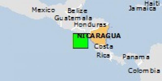 Scossa di terremoto a Corinto, Nicaragua