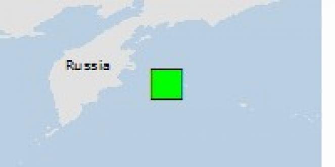 Scossa di terremoto a Klyuchi, Russia