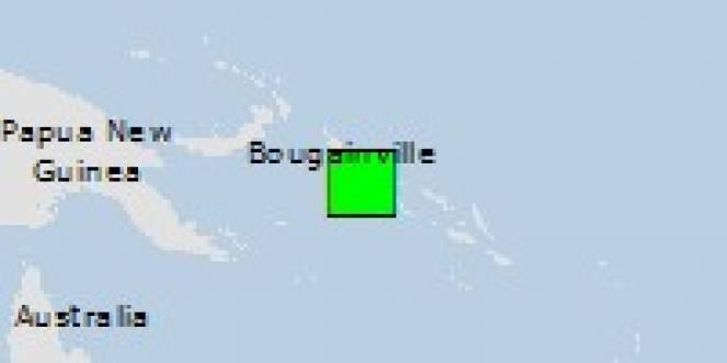 Scossa di terremoto a Taro, Isole Salomone
