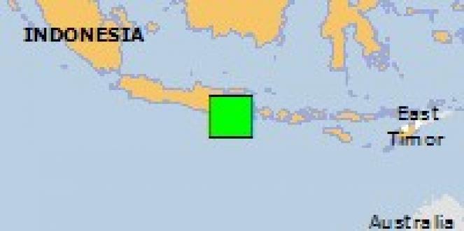 Scossa di terremoto a Tempursari, Indonesia
