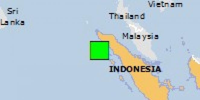 Scossa di terremoto a Sibigo, Indonesia