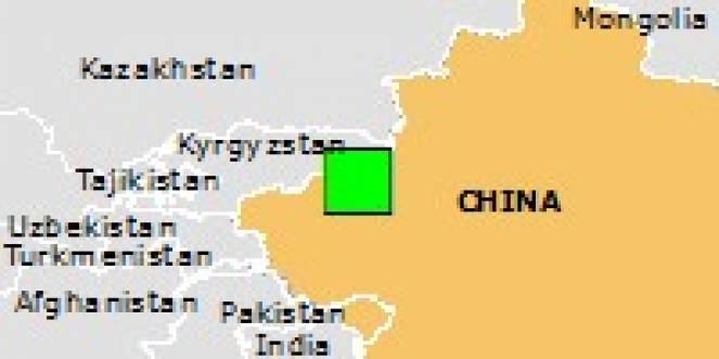 Scossa di terremoto a Kalpin, Repubblica Popolare di Cina