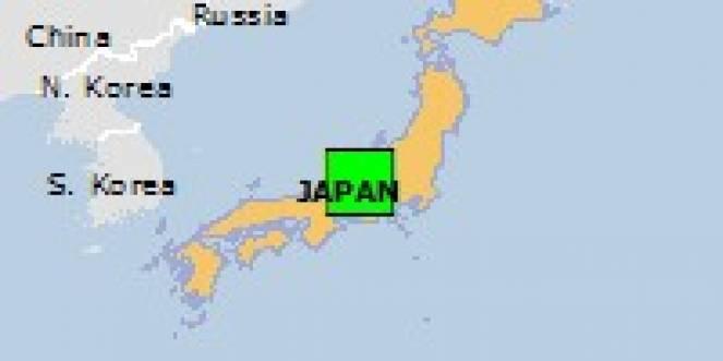 Scossa di terremoto a Toyoshina, Giappone