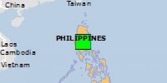 Scossa di terremoto a San Luis, Filippine