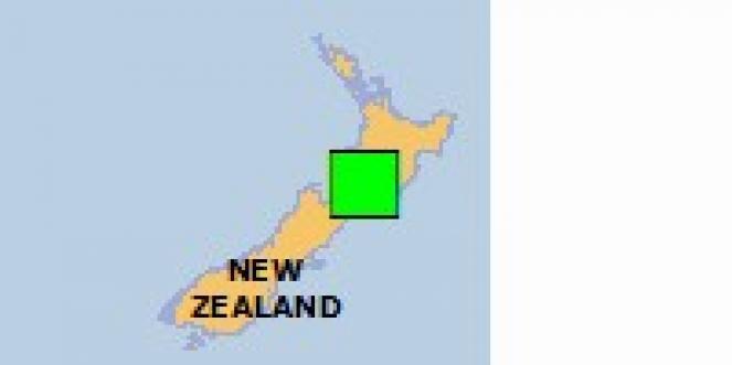 Scossa di terremoto a Ohakea, Nuova Zelanda