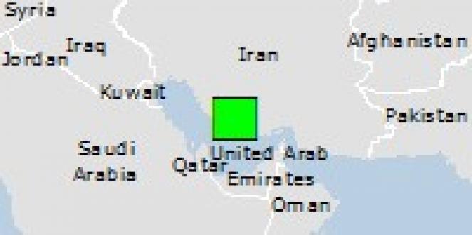 Scossa di terremoto a Khonj, Iran