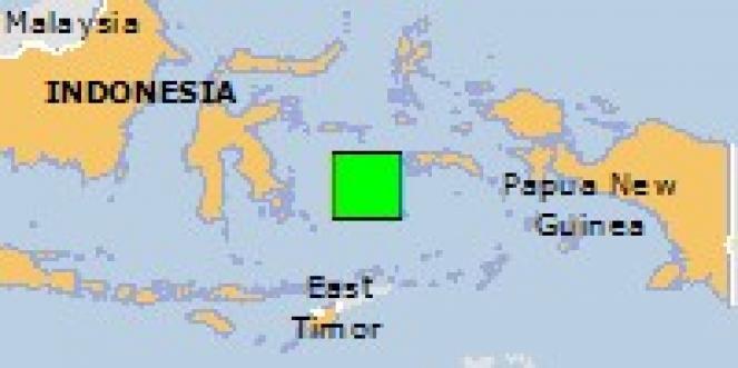 Scossa di terremoto a Leksula, Indonesia